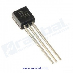 Transistor 2N2222A NPN TO-92