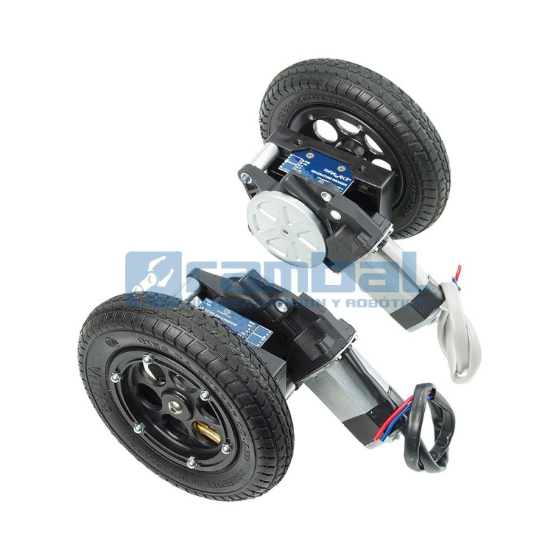 Kit Ruedas Y Armazon Para Motores Wheel Kit Robotica Chile