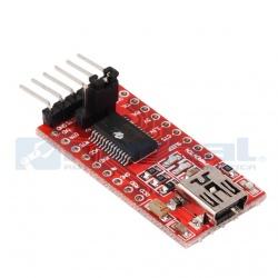 Convertidor Serial TTL a USB de 5V y 3.3V FT232RL