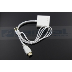 HDMI a Vga + Adaptador de audio