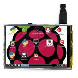 "Pantalla HDMI para Raspberry Pi 3.5"""