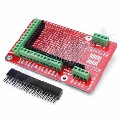 Shield Board Prototipo Expansion Raspberry Pi 2/3 Modelo B Y B+