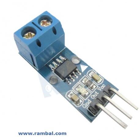 Sensor Corriente 20A