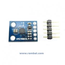 Magnetometro y Compas 3 Ejes HMC5883L V4.0