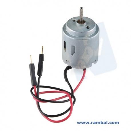 Motor de corriente continua ( Con cables )