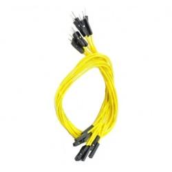 Cinco Cables Macho / Hembra 15 cm