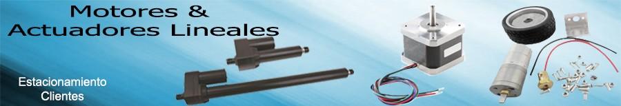 Actuadores lineales Motores