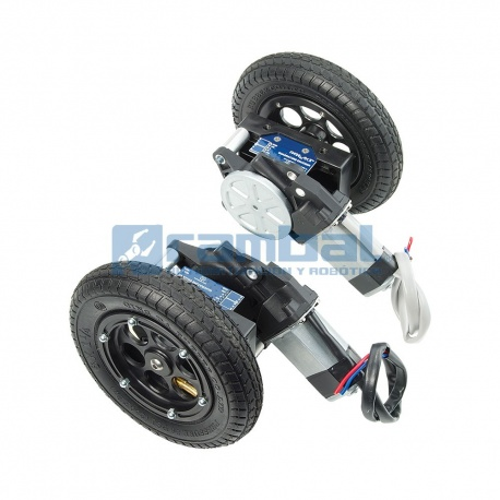 Kit ruedas y armazon para motores