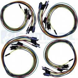 40 Cables de conexion de 20 cm Macho/Hembra Super Life