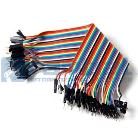 Cable Doble Macho 20cm