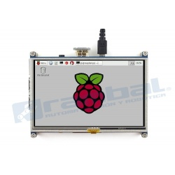 Pantalla Raspberry Pi 5 in