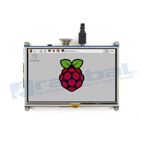 Pantalla Raspberry Pi 5 in