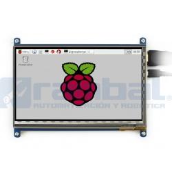 Pantalla Touch Raspberry HD Pi 7