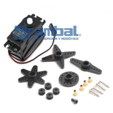Continuous Rotation Motor Servo (Trabajo pesado)