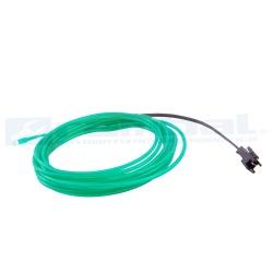 El Wire Neon - Verde Fosforescente 2mt