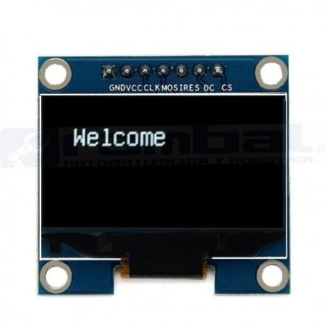 "1.3"" SPI/IIC Pantalla 7pin OLED LCD Color Blanco"