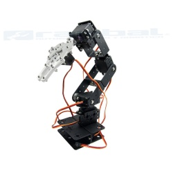 Metallic Robotic Arm 6 DOF v1