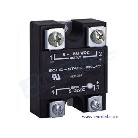 Rele Estado Solido 110VDC40A