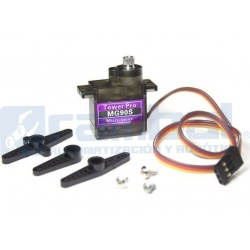 Motor Servo Engranajes Metálicos MG90S Micro Size 360