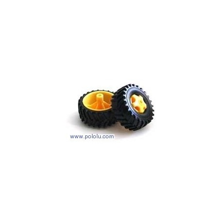 Tamiya 70101 Truck Tire Set (4 tires)