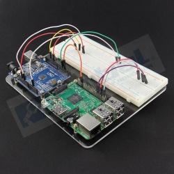 BreadBoard 830 puntos + Placa de prototipo para Baspberry Pi 3 y 2 modelo B