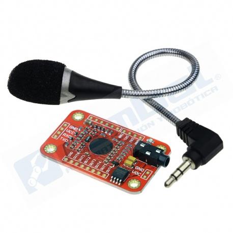 Modulo Elechouse V3 Reconocimiento de Voz y Microfono Arduino