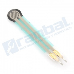 """Force-Sensing Resistor: 0.2"""""""