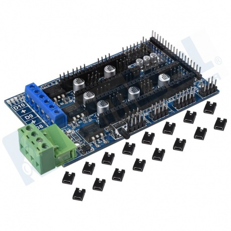 Reprap Arduino Mega Pololu Shield (RAMPS 1.5 Assembled) PLUS