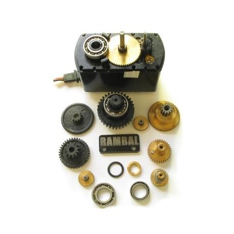 Motor reductor (robotica, trabajo pesado, 40K Torque)
