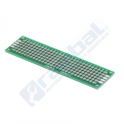 Tarjeta PCB perforada DoubleSide 21x81mm