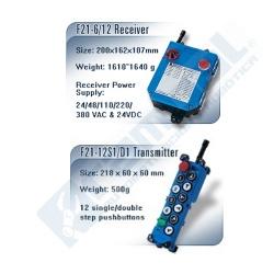 Control remoto industrial Telecrane
