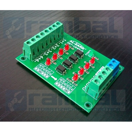 Optoacoplador Convertidor de Señal de 4Bit