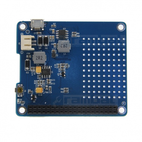 Shield UPS Hat para Raspberry Pi