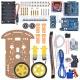 Kit Chasis Robot dos Ruedas y accesorios 2WD-Full-2