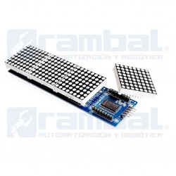 Display 4 Matriz de Puntos MAX7219 para Arduino