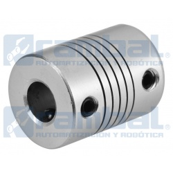 Flex Shaft Acoplamiento 6x8 mm.