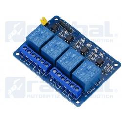 Module Relay 4 Canales Optoacoplado