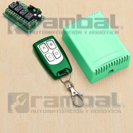 Control Remoto 4 Canales 315MHZ LUXOR