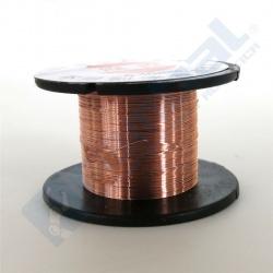 Alambre de cobre barnizado 10m.