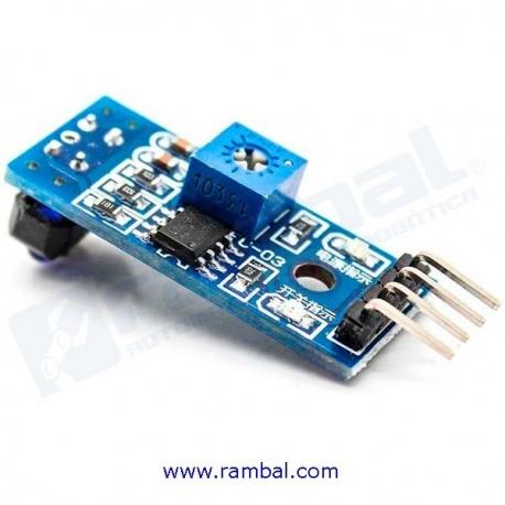 Sensor Reflectivo Digital y Analogo