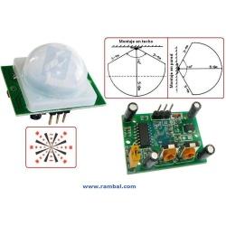 Sensor Movimiento Pir Detector Objetos