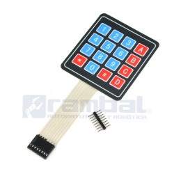 4x4 Matrix Membrane Keypad