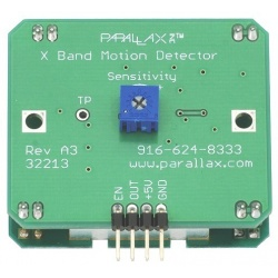 X-Band Motion Detector ( Detecta objetos mediante Doppler)