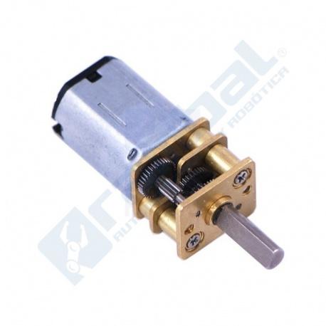 Motor-reductor metalico alto torque y bajo consumo