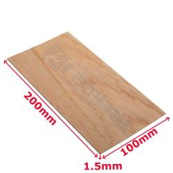Lamina de madera - Wood sheet 100x200mm