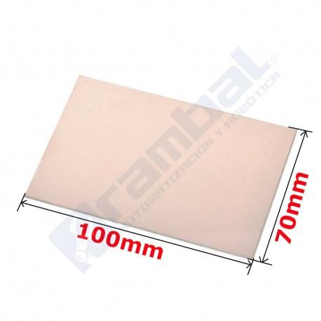 Tarjeta PCB Virgen Single side 70x100mm