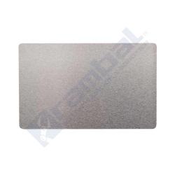 Tarjeta Aluminio Gris Grabado Láser CNC – Aluminium Alloy Plate Card Gray55x85mm
