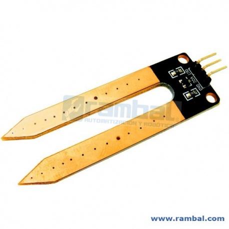 Moisture Sensor: Sensor Humedad de sustratos
