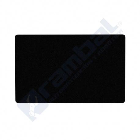 Tarjeta Aluminio Negro Grabado Láser CNC – Aluminium Alloy Plate Card BLACK 55x85mm