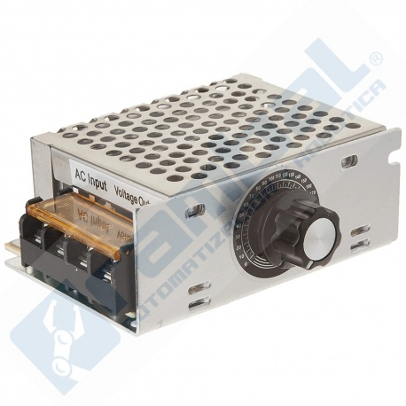 Dimmer Regulador Voltaje Alterno 220VAC 4000W 10-220VAC